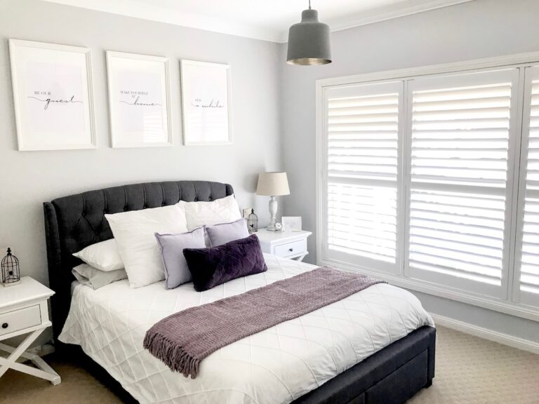 hamptons-bedroom-interior-decorator-sydney