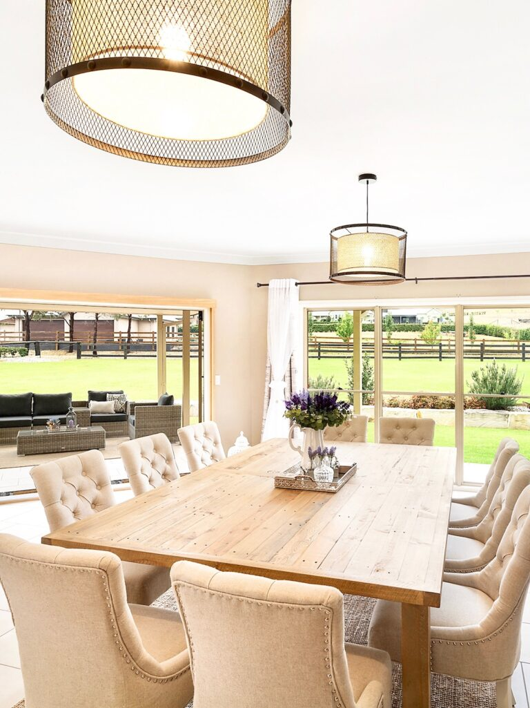 provincial-country-interior-decorating-dining-room-setting-sydney
