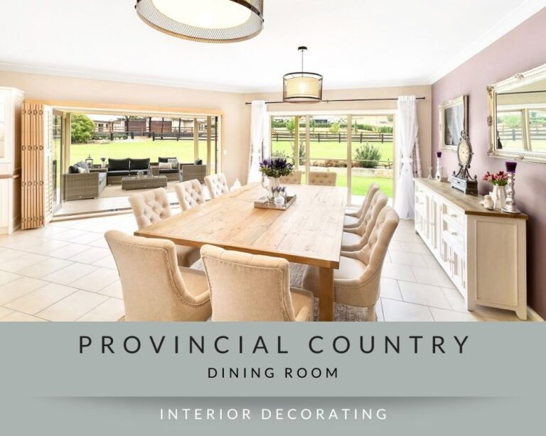provincial-country-interior-decorating-dining-room-sydney