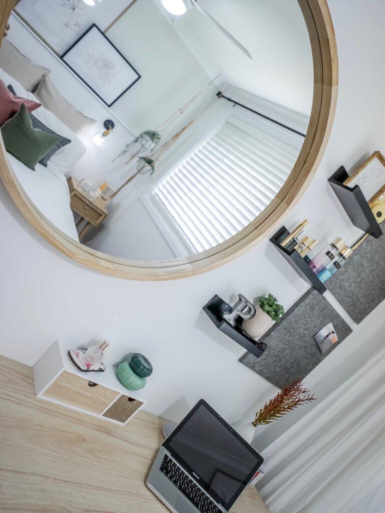 scandi-boho-bedroom-interior-decorating-makeup-station-sydney